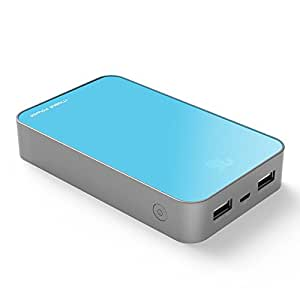 KAYO MAXTAR Battery Pack 11000mAh Power Pack Dual USB Battery Max 3.1A Emergency External Cell Phone Battery Charger For Samsung Galaxy S4 S6 S5 S3 S2 Apple iPhone 6 Plus IPad Mini Tablet PC Motorola Moto X HTC One One 2 M8 Nokia LG Car DVR PSP PDA Video Game Machine Mp3 Mp4 Camera Bluetooth Speakers headphones Wireless Device and Most USB Powered Devices Color Blue S16