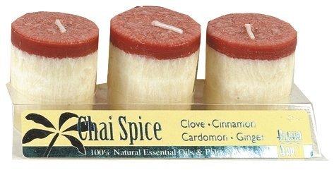 Aloha Bay Candle Votive Essential Oil Chai Spice