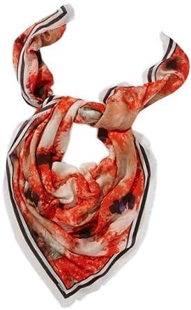 Michalsky Damen Halstuch Sweet Freedom Plaid, Animalprint, Gr. One size, Mehrfarbig (sweet freedom red)