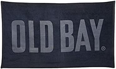 OLD BAY 100 Cotton Oversized Beach Towel 35 by 60-Inch