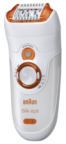 Braun SE 7181 WD Silk Epil 7 Wet & Dry Epilator, Orange/Copper - abouther.net