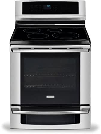 "Electrolux EW30IF60IS Wave-Touch 30"" Stainless Steel Electric Induction Range - Convection"