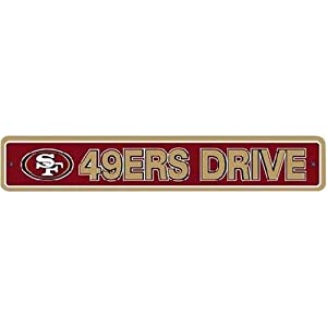 "FMD90305 - Street Sign - NFL Football - San Francisco 49ers ""49ers Drive"""