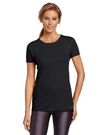 Calvin Klein Performance Women's Crewneck Tee, Black, X-Small