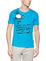 Bichobichejo Camiseta Manga Corta (Cielo)