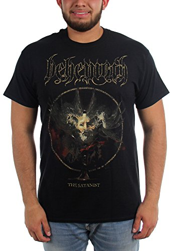 The Behemoth-Satanist da uomo, decorazione T-Shirt nero Large