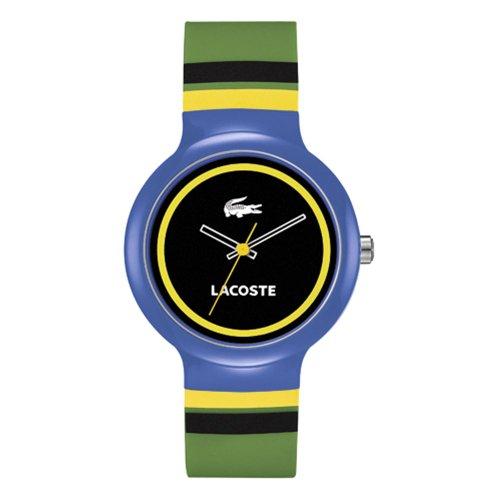 Lacoste GOA 2020033 - Reloj unisex, correa de silicona multicolor