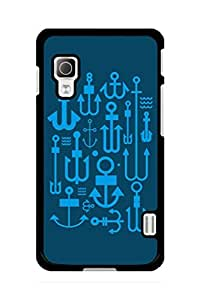 Caseque Anchor Love Back Shell Case Cover for LG L52