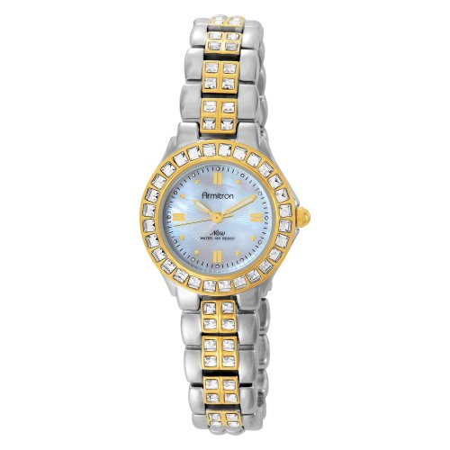 Armitron Women's 753689MPTT NOW Swarovski® Crystal Accented Two-Tone Dress Watch