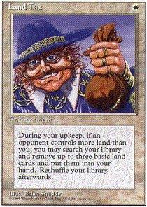 Magic: the Gathering – Land Tax – Fourth Edition
