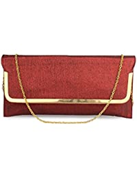 Do Bhai Rimjhim Fashionable Stylish Party Clutch For Women