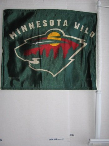 Minnesota Wild - NHL Car Flags - Buy Minnesota Wild - NHL Car Flags - Purchase Minnesota Wild - NHL Car Flags (Flagline.com, Home & Garden,Categories,Patio Lawn & Garden,Outdoor Decor,Banners & Flags,Sports Flags & Banners)