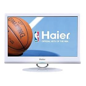 Haier HL19SLW2 White 19-Inch Ultra Slim LED LCD HDTV