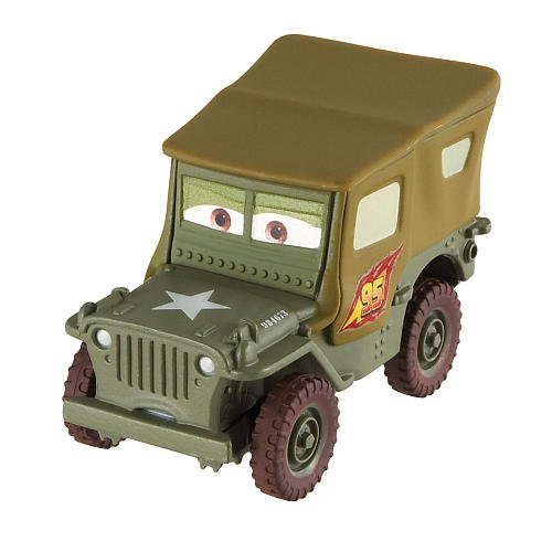 Disney / Pixar CARS 2 Movie 155 Die Cast Car #15 Race Team Sarge - 1