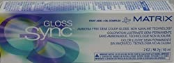 Matrix Gloss Sync Ammonia Free Demi Hair Color Gloss 2oz 8 Cg