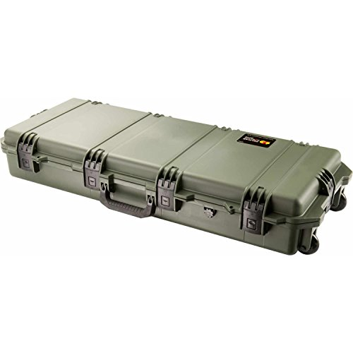 "Long Case with Foam: 16.5"" x 47.2"" x 6.7"" Color: OD Green"