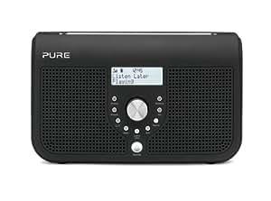 Pure ONE Elite Series II Portable Stereo DAB/FM Radio - Black