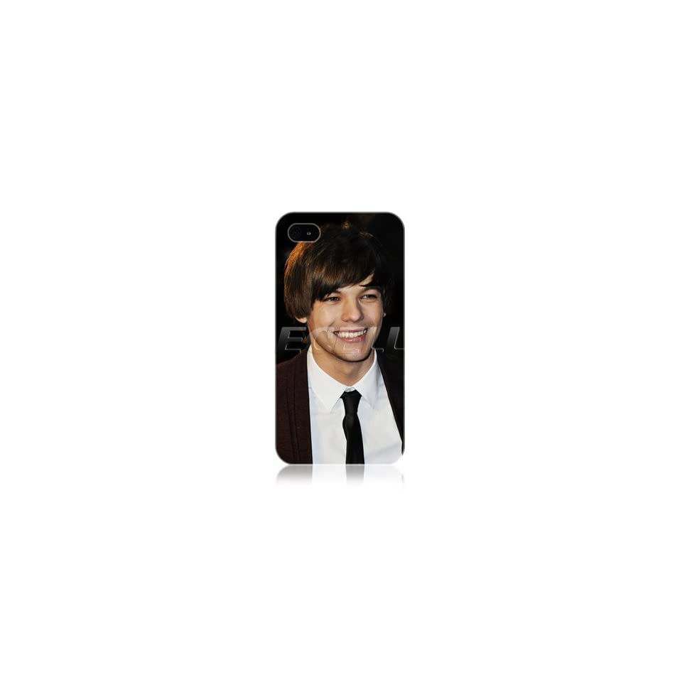 Ecell   LOUIS TOMLINSON ONE DIRECTION 1D BOY BAND SNAP BACK CASE FOR APPLE iPHONE 4 4S