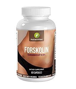 Forskolin | Reducteur d Appetit | Contrôle Du Poids mincir et perdre du poids | forskolii coleus | Perdre l'excès de graisse|Complément alimentaire