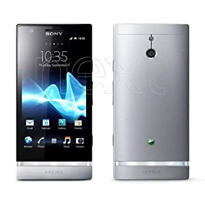 Sony Mobile Xperia P Display 4 Pollici, Wi-Fi, Grigio