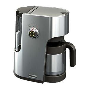 Best Filter Coffee Maker For Home : Villaware BVVLDCSL01 Filter Coffee Maker Die Cast Metal: Amazon.co.uk: Kitchen & Home