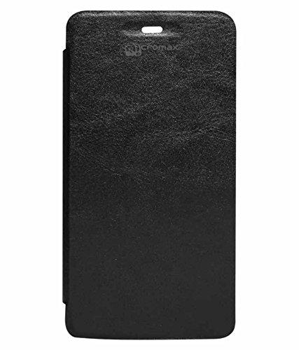 DMG Flip Book Case for Micromax Canvas 2 Colors A120 (Black)