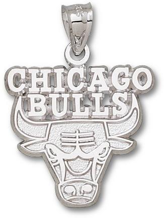 Sterling Silver CHICAGO BULLS LOGO 1