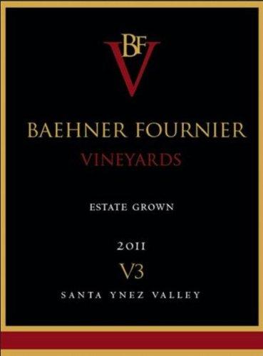 2011 Baehner Fournier Vineyards Estate Grown V3 Red Blend 750 Ml