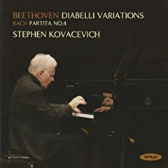 33 Variations in C major on a Waltz by Anton Diabelli, Op.120: Variation 4: Un poco pi� vivace