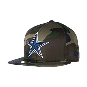 Dallas cowboys new era camo pop 59fifty for Dallas cowboys fishing hat