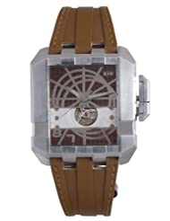 RSW Men's 7110.MS.V9.9.00 Crossroads Square Brown Automatic Leather Watch