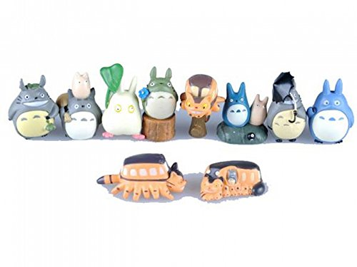 My Neighbor Totoro is a very cute Mini Figure 10 pieces set parallel imports