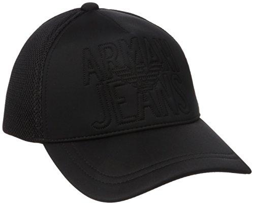 Armani Jeans -  Cappellino da baseball  - Uomo Black Talla unica