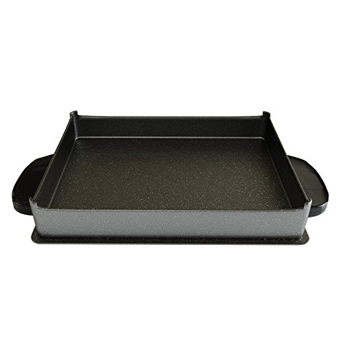 George Foreman GFP84BP Evolve Grill 84-Square Inch Deep-Dish Accessory Bake Pan, Black