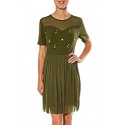 MISMASH FONDANT DRESS