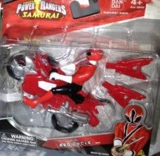 Power Rangers Samurai Mini Red Cycle - 1