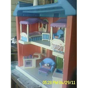 Hello Friend, Would You Like To Buy Vintage Little Tikes My Size Dollhouse  Furnished? You Come To The Best Place. Since I Have Done Search The Best  Product ...