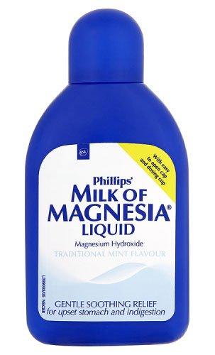 Phillips Milk Of Magnesia liquid mint 200ml