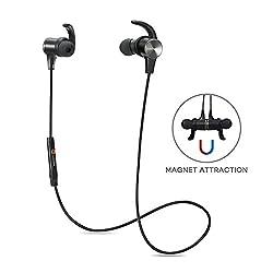 TaoTronics Bluetooth4.1マグネティックヘッドホン TT-BH07