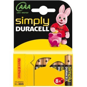 10 x Duracell-simply-pile aAA-lot de 8