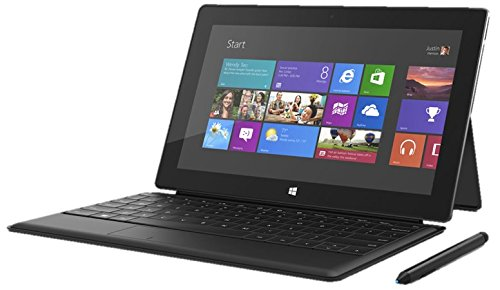 "Microsoft Surface Pro 128Gb Ssd Bundle With Black Type Cover Digitizer Pen Core I5 10.6"" 1080P 1920X1080 Dual Camera Microsd"