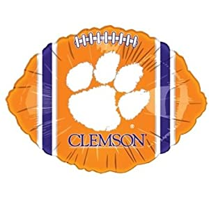 Clemson Tigers 18 Foil Football Balloon