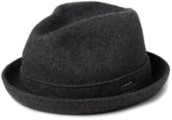 kangol Unisex Wool Player Trilby Hat, Brown (Tobacco ...