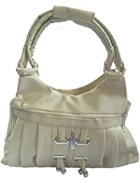 X-Well Girls Shoulder Bag Beige Non-Leather BN-08-A