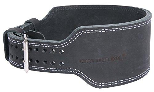 KETTLEBELLKON(ケトルベル魂)ケトルベル用リフティングベルト (Mサイズ) 本格的にケトルベルリフティングに取り組む方向けのプロ仕様のリフティングベルト