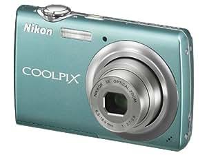 Nikon Coolpix S220 Digital Camera - Aqua Green (10.0MP, 3x Optical Zoom) 2.5 inch LCD