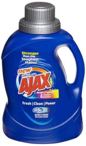 Ajax 49558CT HE Laundry Detergent, 50oz Bottle