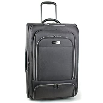 Kenneth Cole Reaction Luggage Stack The Deck Suitcase, Charcoal, Medium