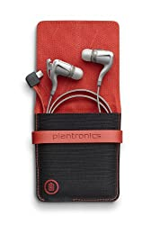 Plantronics BackBeat GO 2 Bluetooth Wireless Stereo Earbuds with Charging Case - White