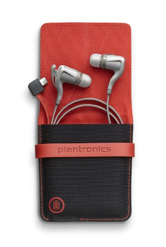 Plantronics BackBeat GO 2 Bluetooth Wireless Stereo Earbuds with Charging Case - Retail Packaging - White Plantronics Bluetooth Headsets autotags B00DIOALYA